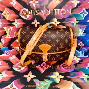 🌺 Louis Vuitton Sologne Crossbody Bag